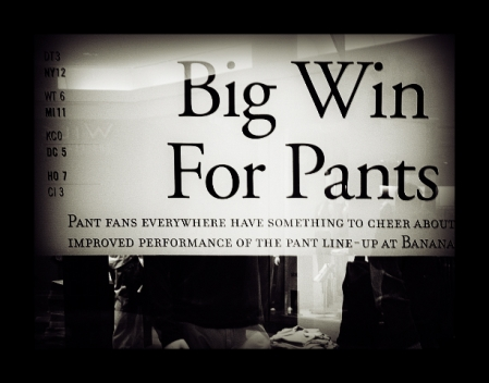 big win for pants