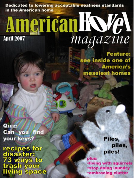 American Hovel Magazine, April 2007 cover