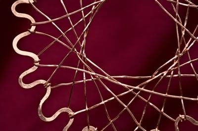 mesh burst detail