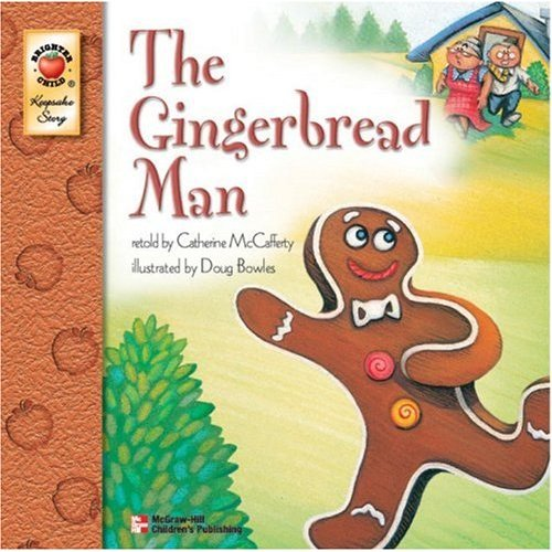 Gingerbread man story characters printable gingerbread man story