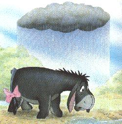 Character From Winnie The Pooh -  Eeyore 2
