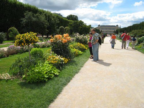 The main garden path.