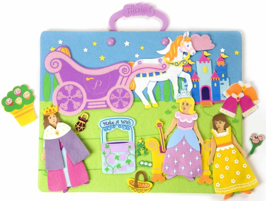 The Pretty Princess FeltTales set, as shown on the company website.