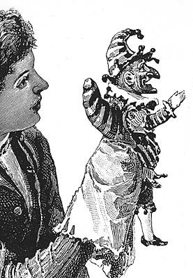 punch-bw-puppet