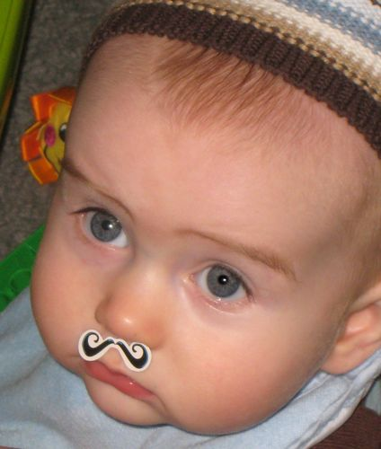 Mustachioed babies need your help.