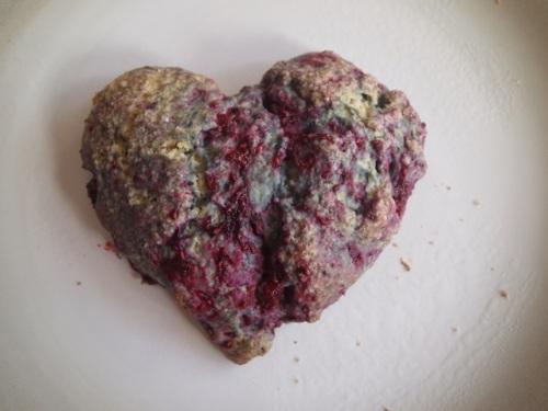 scone heart